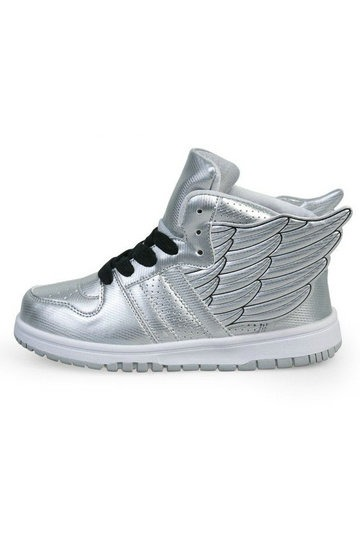 Angel Wings Style PU High Top Sneakers [FABI1024]- US$ 57.99 - PersunMall.com