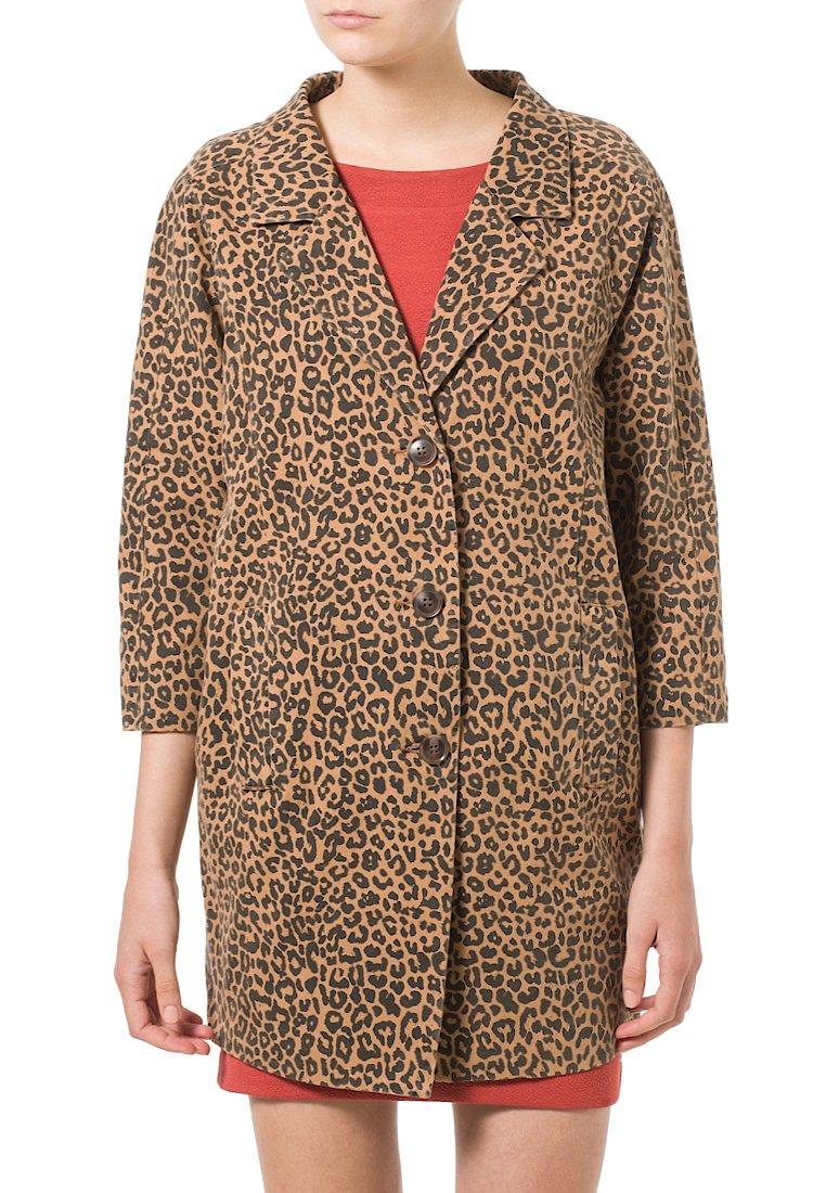Ganni Kurzmantel - leopard - Zalando.ch