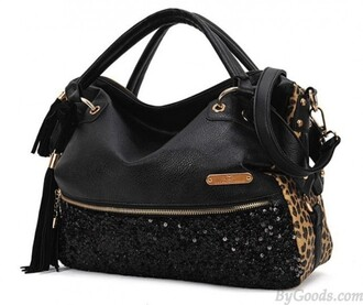 bag handbag shoulder bag tassel sequins