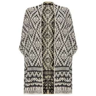 jacket kimono aztec tribal pattern