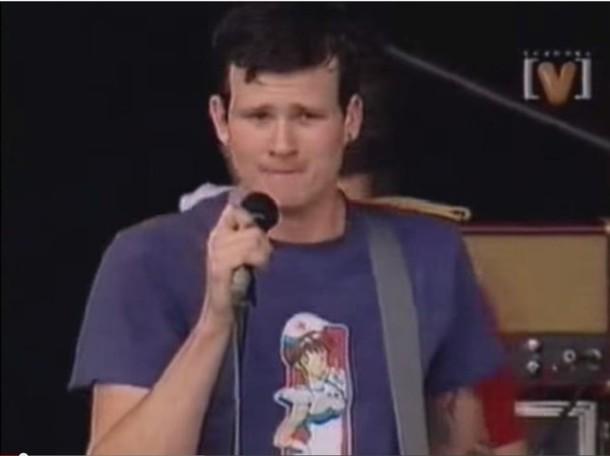 t-shirt celebrity tom delonge nurse skateboard music festival blink-182 mens t-shirt Hook Ups