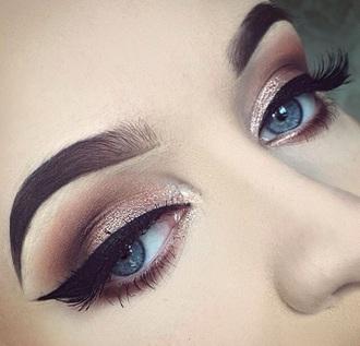 make-up rose gold black