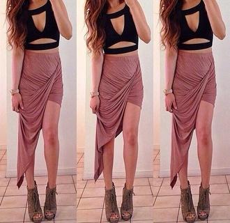 skirt hot miami styles tank top