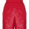 High-waisted sequin shorts | moda operandi