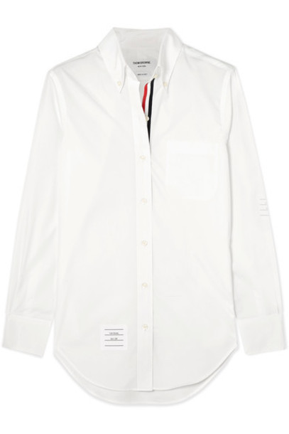 Thom Browne shirt white cotton top