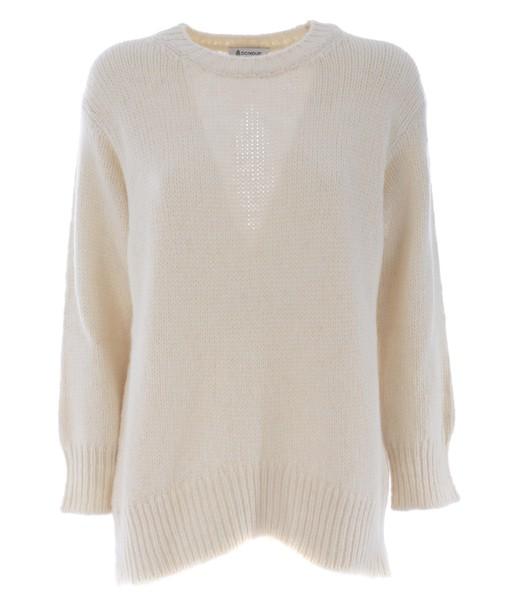 sweater open