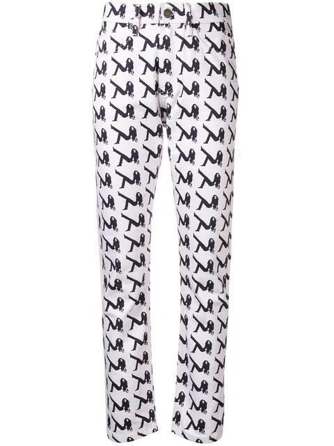 Calvin Klein Jeans Est. 1978 Brooke Printed Jeans - Farfetch
