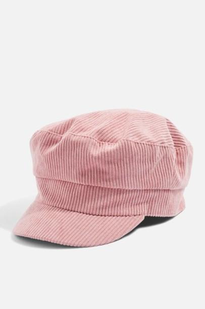 Topshop hat blush