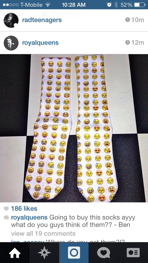 underwear socks emoji socks emoji print