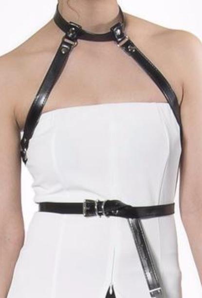belt black harness