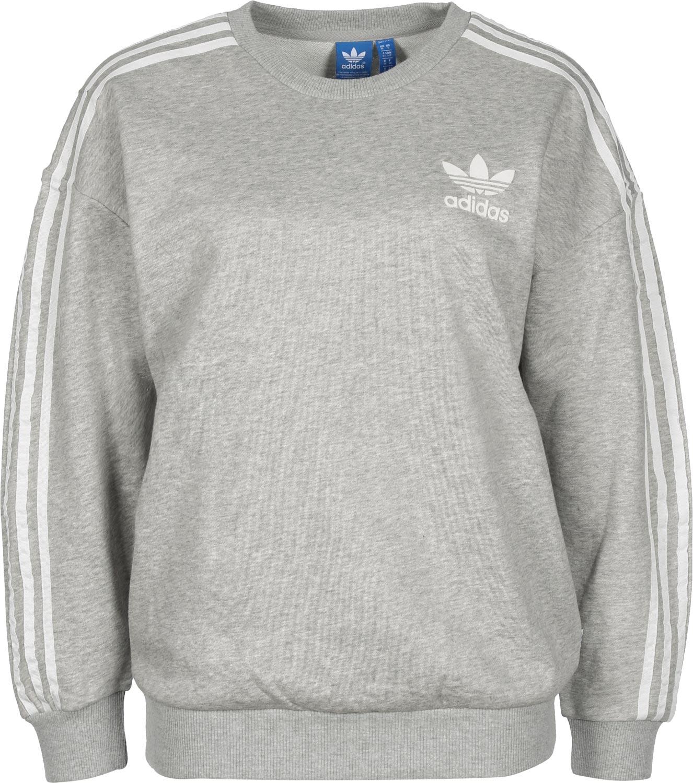 Adidas BB W sweater grijs flecked