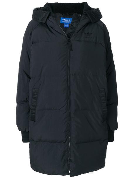 Adidas coat women black
