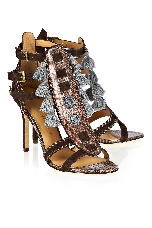 Guzel Tasseled Stilettos - Shoes - London-Boutiques.com