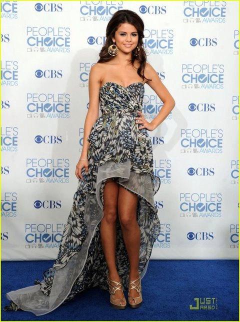 Selena Gomez Schmetterling Print Kleid von Irina Shabayeva