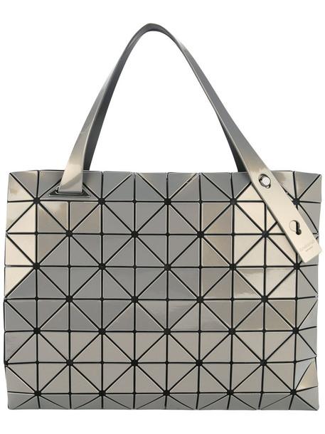 BAO BAO ISSEY MIYAKE women grey metallic bag