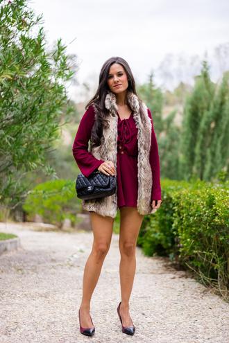 crimenes de la moda blogger romper jacket shoes bag