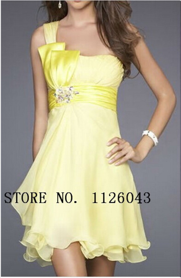 short bridesmaid dress yellow bridesmaid dress bridesmaid 2014 bridesmaid dress short party dress yellow party dress party dress 2014 party dress short prom dress prom dress 2014 prom dress yellow prom dress