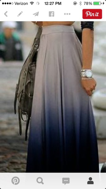 skirt ombre high waisted skirt tan black grey maxi long navy blue maxi skirt long skirt pretty perfecto blue skirt navy blue high wasted skirt