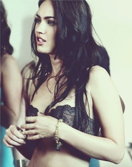 megan fox underwear black underwear