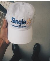 hat,white,baseball hat,blue,white cap,single,live better,save money,walmart,mens cap,cap,walmart slogan,dope,baseball cap,cute,trendy,dope hats