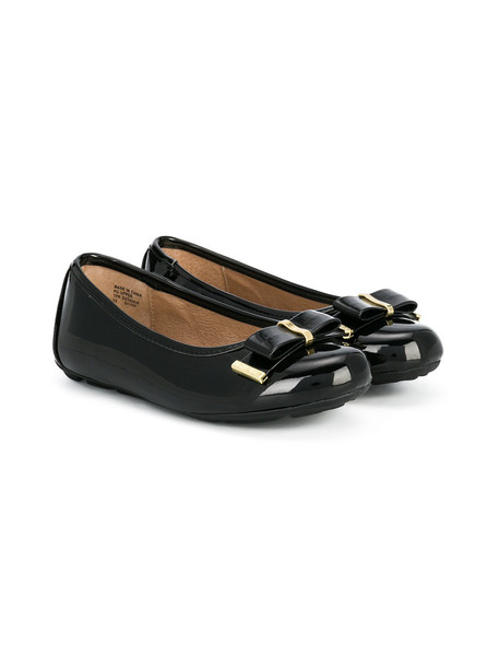 Michael Kors Kids bow shoes leather black