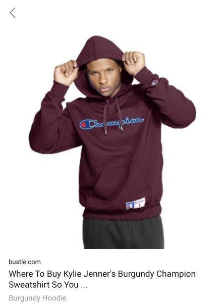 jacket burgundy champion hoody