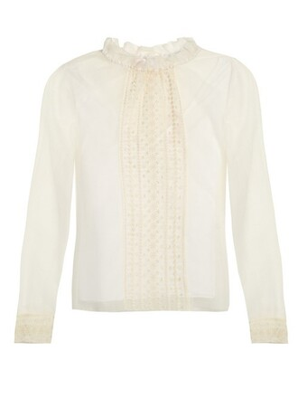 blouse mesh top