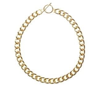 jewels gold chain necklace gold chain gold chain necklace gold necklace boho hipster indie market dress shoes chain necklace jewelry gold link links chain link chain link necklace or collier