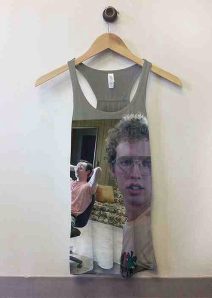 shirt movie napoleon dynamite tumblr tank top