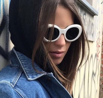sunglasses sunnies glasses accessories accessory white white sunglasses retro sunglasses round sunglasses
