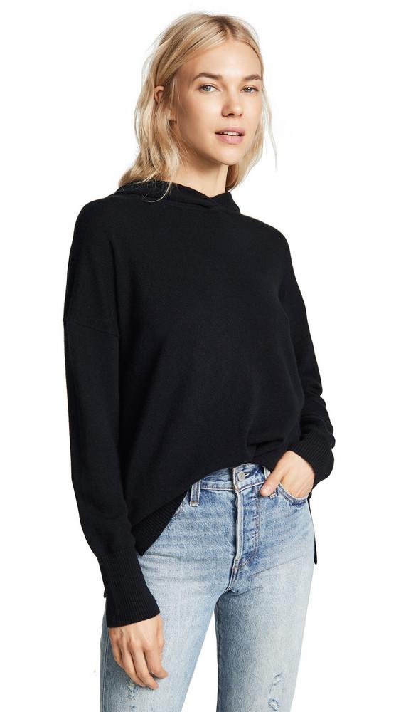 Le Kasha Riga Cashmere Hoodie in black