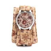 jewels,autumn flowers,autumn watch,fall outfits,watch,ziz watch,soft watch,cotton strap,floral,floral watch,unusual watch,unique watch,beautiful watch,designer watch,ziziztime