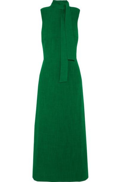 Cefinn dress midi dress bow midi green