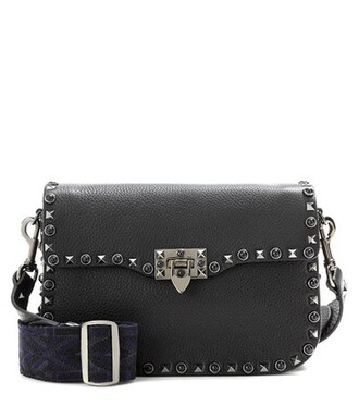noir guitar bag shoulder bag leather black