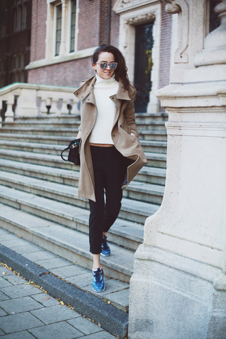shoes sweater pants bag coat sunglasses style scrapbook