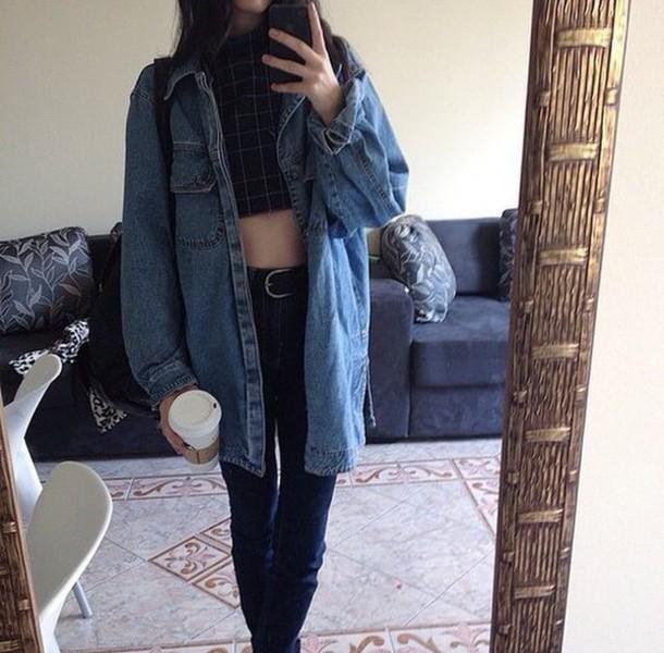 denim jacket outfits tumblr - photo #14