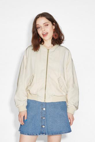 jacket bomber jacket cream