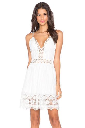 dress mini dress mini indie love crochet white