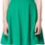 Zara Flared Strappy Dress in Green | Lyst