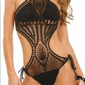 swimwear,crochet swimsuit,style,fashion,ibiza style,ibiza fashion,ibiza bikini