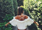 blouse,white,boho,flowy,boho chic,summer top,cover up,top,girl,cut-out,off the shoulder