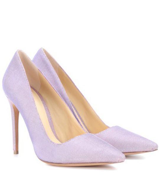 Alexandre Birman new pumps purple shoes