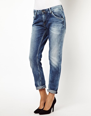 Pepe Jeans | Pepe Jeans London Liberal Slim Boyfriend Jeans at ASOS