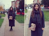 missplayground,blogger,top,scarf,bag,furry pouch