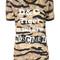 Dolce & gabbana - new rinascimento tiger print t-shirt - women - spandex/elastane/viscose - 44, spandex/elastane/viscose