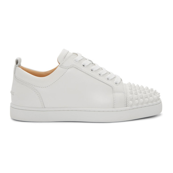 spikes sneakers white shoes
