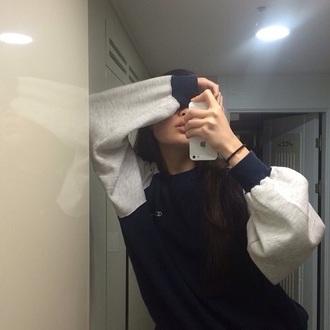 sweater vintage pullover mirror