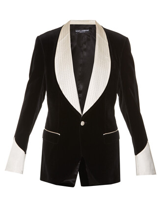 blazer velvet black jacket