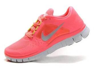 Nike Free Run Women Pink