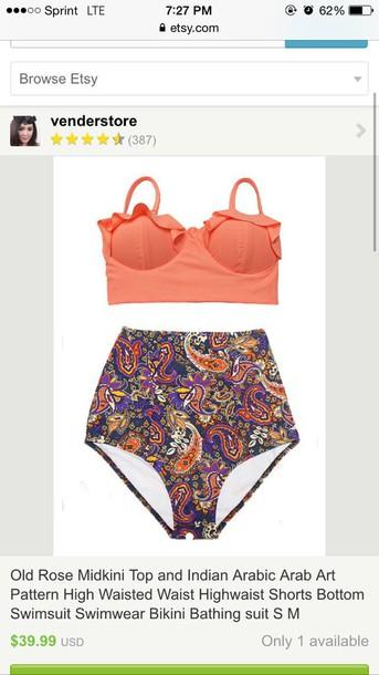 swimwear high waisted bikini